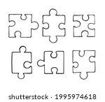 vector set bundle of hand drawn ... | Shutterstock .eps vector #1995974618