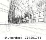 contemporary building   Shutterstock . vector #199601756