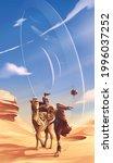 science fiction vector...   Shutterstock .eps vector #1996037252