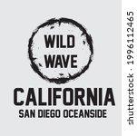 california beach wild wave... | Shutterstock .eps vector #1996112465