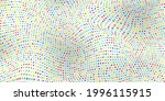 abstract wave dot halftone... | Shutterstock .eps vector #1996115915
