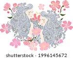gemini of astrology design...   Shutterstock .eps vector #1996145672