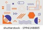 geometric shapes. set of... | Shutterstock .eps vector #1996148885