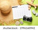 Calendar  Photo Camera And...