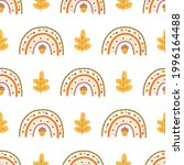 fall rainbow pattern  fall... | Shutterstock .eps vector #1996164488