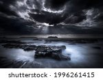 Dark Storm Sky Above The Baltic ...