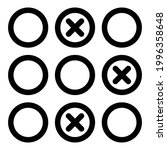 blacklist code icon. outline...