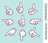 hand direction sign variation... | Shutterstock .eps vector #1996520522