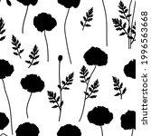 seamless pattern poppies...   Shutterstock .eps vector #1996563668