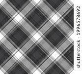 black and white chevron plaid... | Shutterstock .eps vector #1996578692