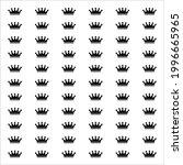 Crown Motifs Pattern....