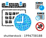 mosaic date and time icon...   Shutterstock .eps vector #1996758188