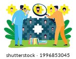 business consulting concept. an ...   Shutterstock .eps vector #1996853045