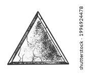 stone rock triangle line art...   Shutterstock .eps vector #1996924478