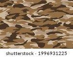 seamless desert camouflage... | Shutterstock .eps vector #1996931225