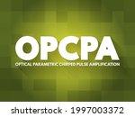 Opcpa   Optical Parametric...