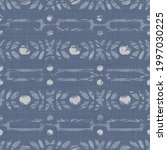 seamless french farmhouse linen ... | Shutterstock . vector #1997030225
