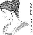 ancient greek philosopher...   Shutterstock .eps vector #1997139068