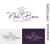 newborn photography studio logo ...   Shutterstock .eps vector #1997142092