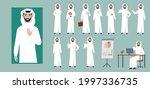 arab businessman character.... | Shutterstock .eps vector #1997336735