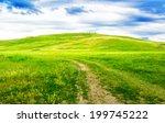 Beautiful Path Through Green...