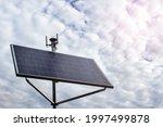 solar panel station energy...   Shutterstock . vector #1997499878