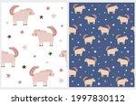 lovely seamless vector pattern... | Shutterstock .eps vector #1997830112