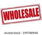 wholesale grunge stamp with on... | Shutterstock .eps vector #199788968