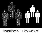 glowing mesh network people... | Shutterstock .eps vector #1997935925