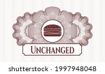 red money style emblem or... | Shutterstock .eps vector #1997948048