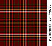 seamless tartan pattern | Shutterstock .eps vector #199798382