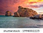 Cyprus Sea. Rocks Of Aphrodite...