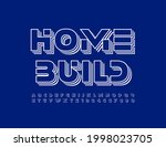 vector business logo home build.... | Shutterstock .eps vector #1998023705