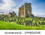 The Ruins Of Tynemouth Castle...