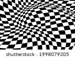 abstract black and white... | Shutterstock .eps vector #1998079205