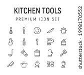 premium pack of kitchen tools...