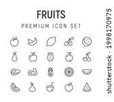 premium pack of fruits line...