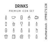 premium pack of drinks line...