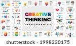 30 creative thinking... | Shutterstock .eps vector #1998220175