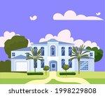 residential home building in... | Shutterstock .eps vector #1998229808