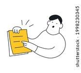 to do  schedule  planned work ... | Shutterstock .eps vector #1998230345