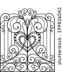 Wrought Iron Gate  Door  Fence