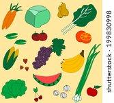 vector illustration of seamless ...   Shutterstock .eps vector #199830998