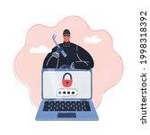 cartoon vector illustration of...   Shutterstock .eps vector #1998318392