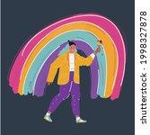 cartoon vector illustration of...   Shutterstock .eps vector #1998327878