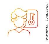 high body temperature gradient... | Shutterstock .eps vector #1998378428