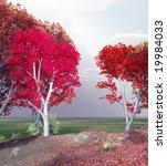autumn landscape   Shutterstock . vector #19984033