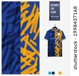 soccer jersey pattern design.... | Shutterstock .eps vector #1998437168