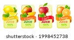 realistic fruit labels....   Shutterstock .eps vector #1998452738