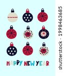 Happy New Year Greeting Card...